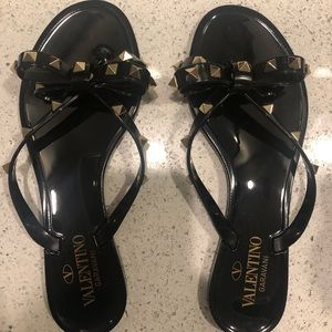 Black Valentino Sandals